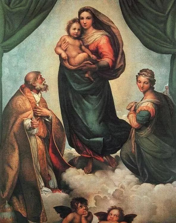 拉斐尔《别墅》bim圣母小视频图片