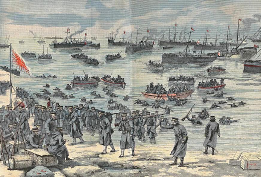 [原创]画报中的日俄战争,双方处决间谍的方式各有不同(图)