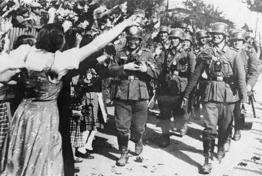二战德军士兵图片
