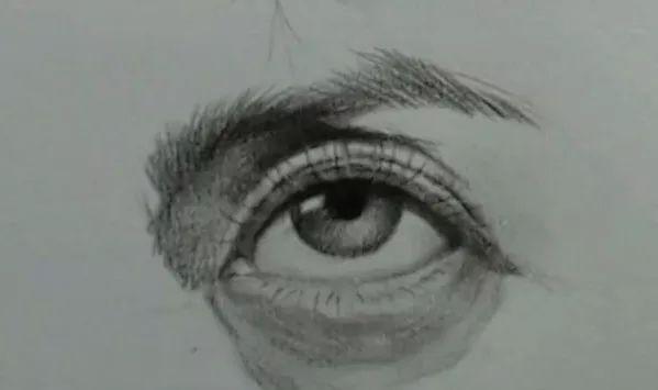 明眸皓齿,笑靥如花,全面了解素描眼睛的画法图片