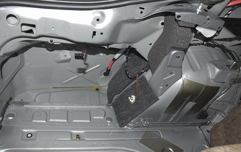 [原创]斯柯达速派轮毂、后尾箱DST隔音,技术性降噪【长沙江波汽车音响改装】(图)