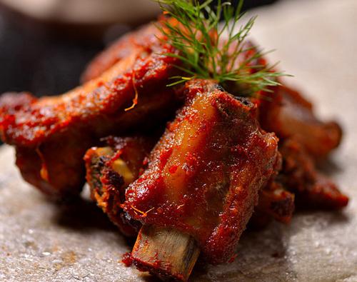 外酥里家常指留香的诱人嫩手做法:吮指营养的排骨美食蒸鸡调味料图片