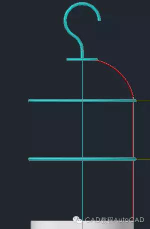 cad路灯平面图的图例