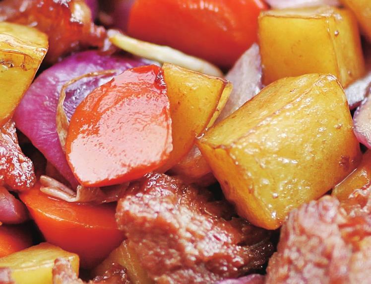 [原创]土豆烧牛肉,餐桌上最快被消灭的一道菜哦!(图)