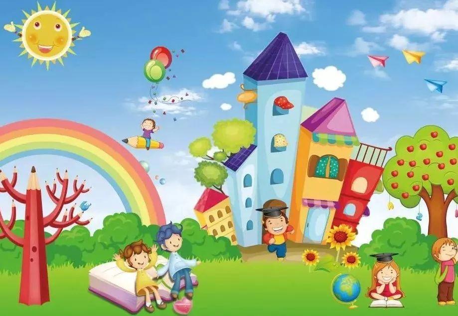 幼儿园壁画有什么意义?图片