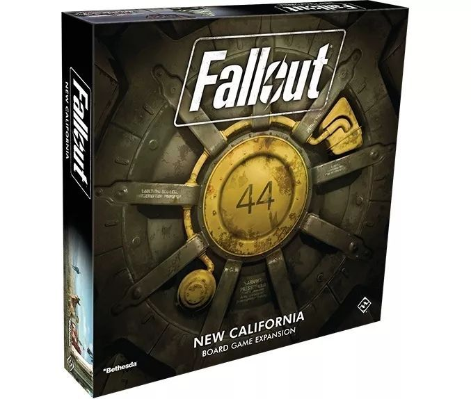 FFG版《辐射》加州扩展第四季度登场 加入新机制的同时带来更多可玩性