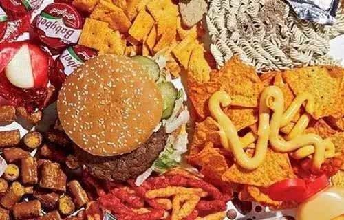 有着健身习惯的他们只吃了一周的垃圾食品身材就变成了这样!