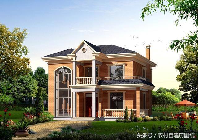 8米的农村别墅设计,一款20万,一款27万
