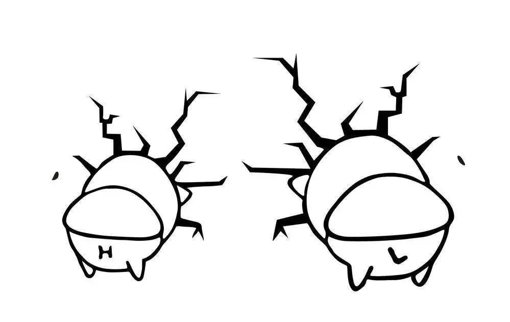 小猪撞墙的表情简笔画 可可简笔画