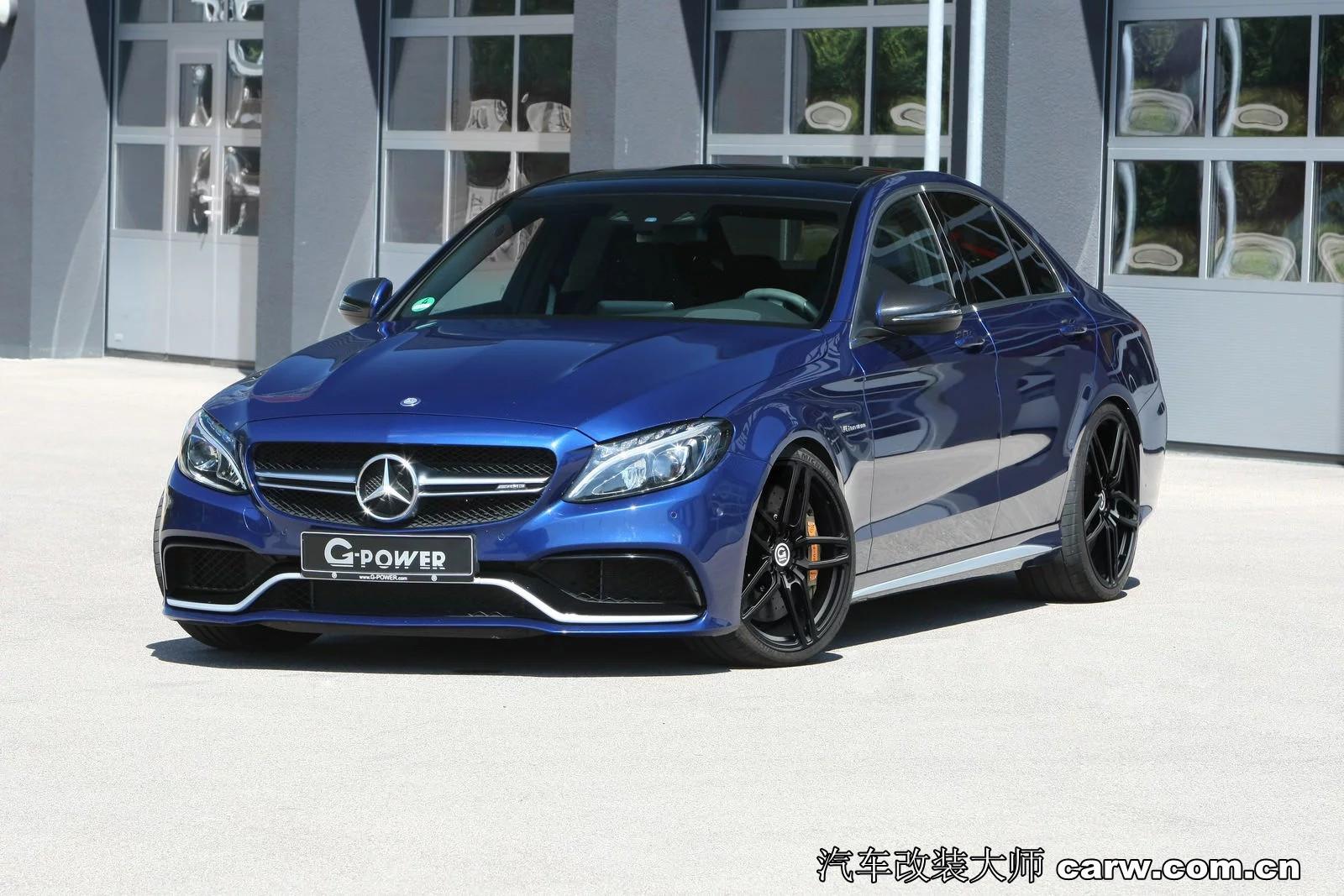 G-Power将更多动力注入Mercedes-AMG C63 S