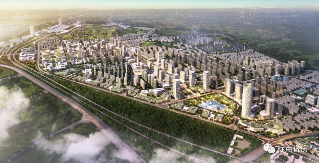 建德洋溪新城规划图