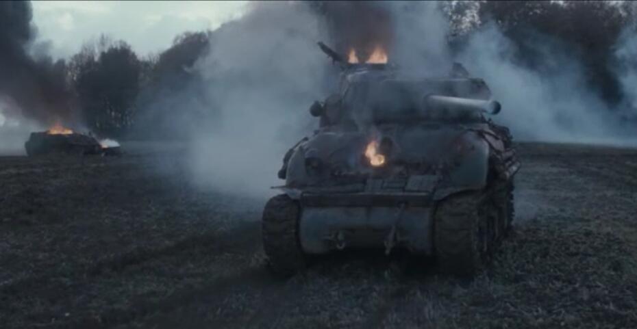 狂怒-fury,一部不得不看的二战题材电影