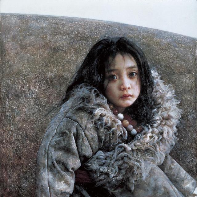 當彩鉛邂逅油畫,注定發生美妙的化學反應——臨摹畫家艾軒油畫