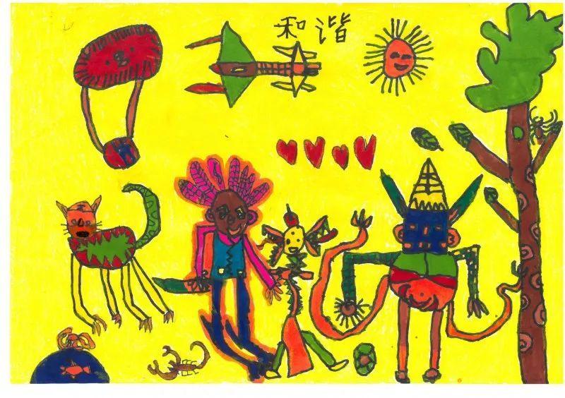 童画新时代 手绘价值观 少年儿童绘画比赛获奖作品公示