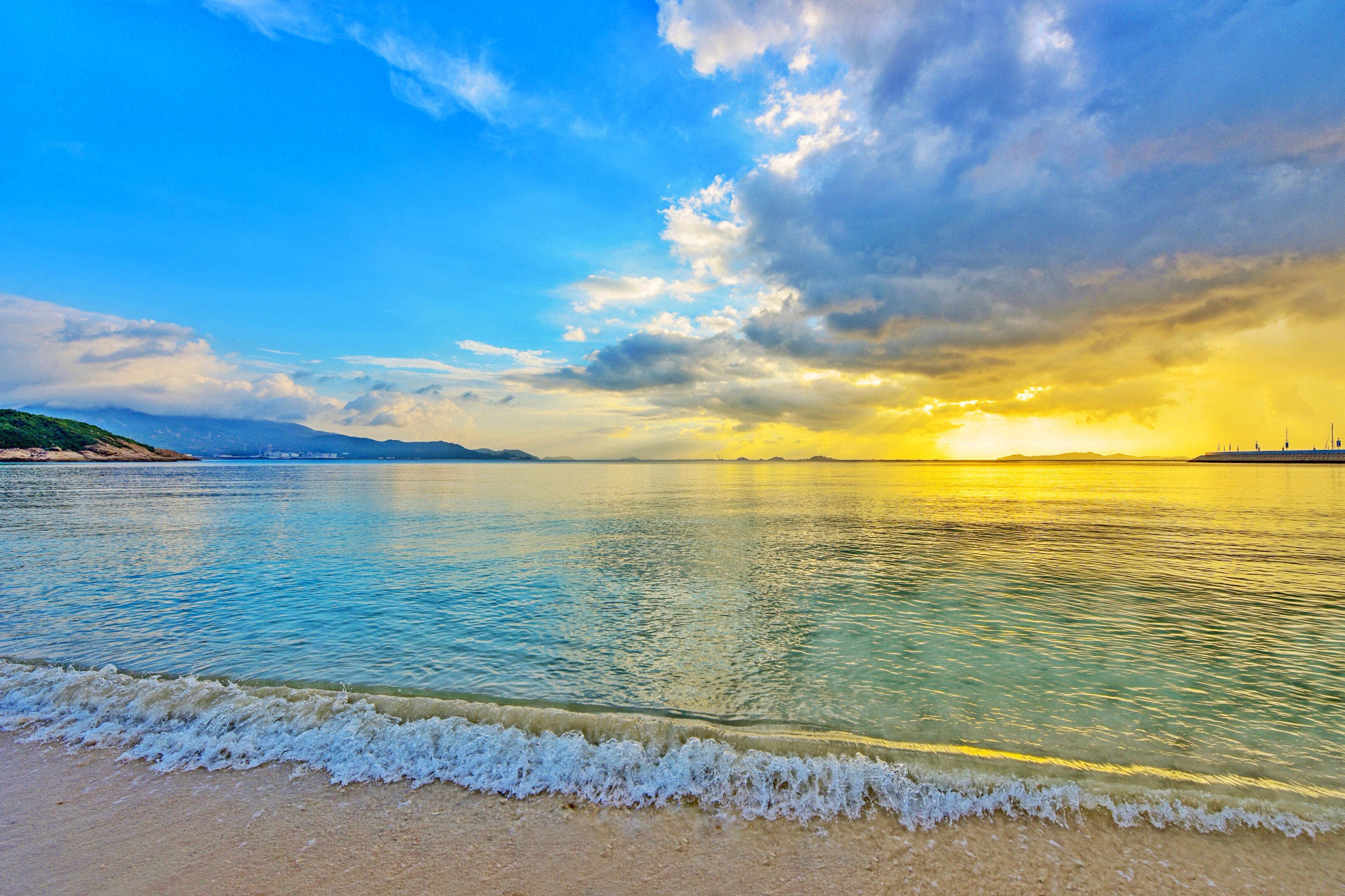 泰国海岛旅游太危险,拥有广东最美沙滩的深圳桔钓沙要火了