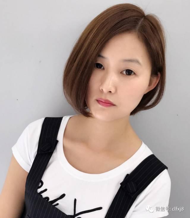 由沙宣立体感短发延伸而来,一直女生们最流行的短发造型之一,波波头的图片