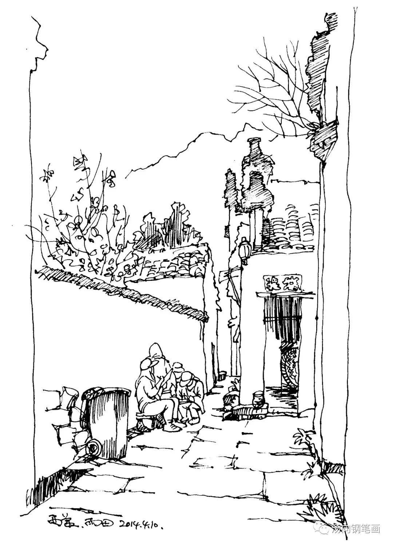 入门宝典104 钢笔画和素描,速写是什么关系