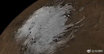 火星上发现了第一个液态水湖