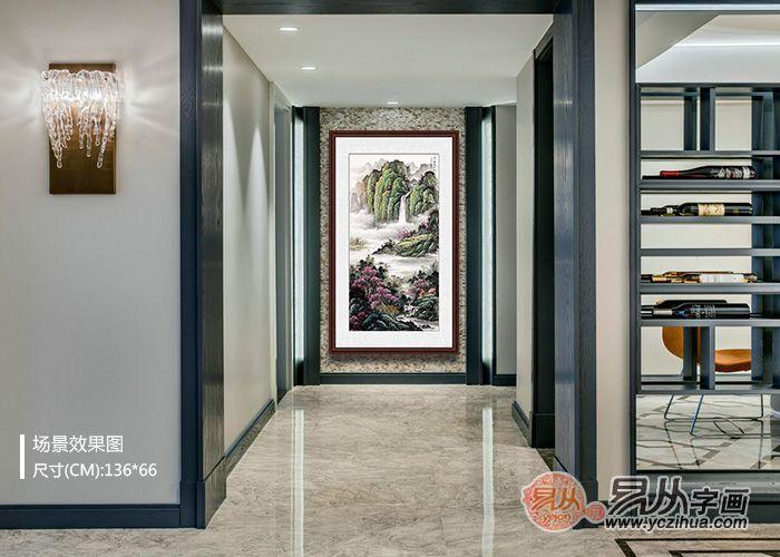 最美玄关装饰画大集合,妥妥中国范,满满意境风!