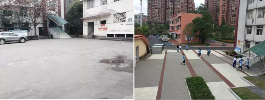 泛华实践|海绵城市官方校园示范--武汉青山区金克斯样板设计图图片