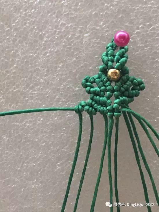 【编绳中国结】桃花贝壳手链,葫芦扣,坠子托等12个饰品(图解教程)
