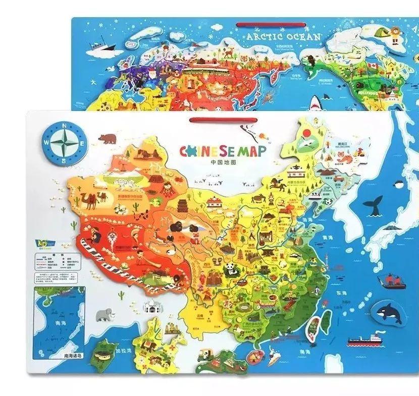 美丽的英文分级绘本&可以拼的世界和中国地图&蕉下防晒小黑伞&迪士尼图片