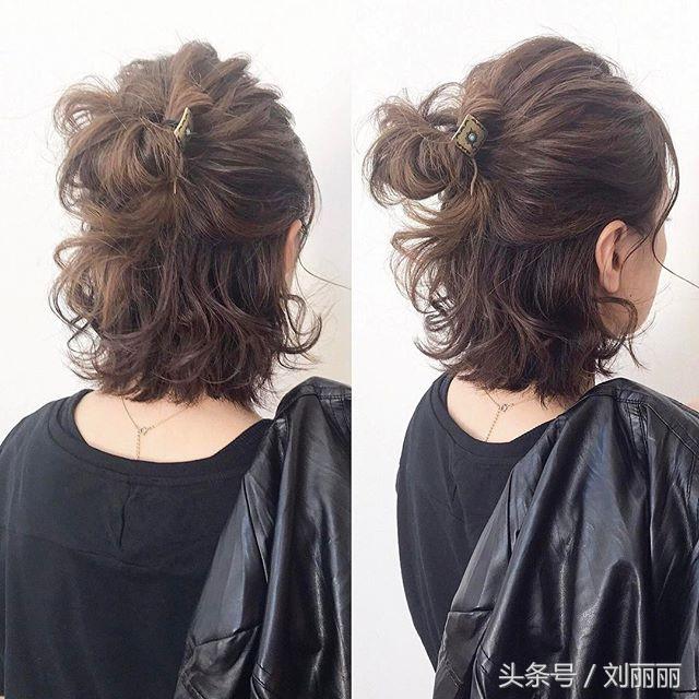2018夏季发型流行这样扎,时尚,优雅,美如仙图片