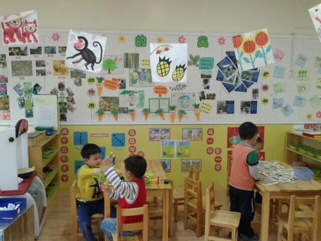 广州幼儿园设计之教室室内布置区域
