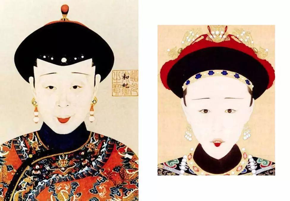 清朝妃子卡通头像