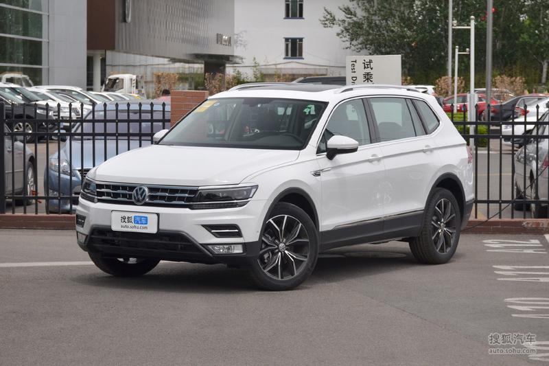 大众途观L新增车型上市 售22.68万元