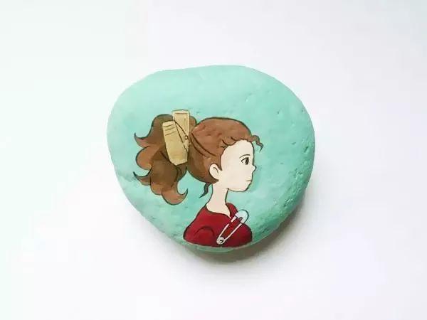 创意石头手工,为你的幼儿园增添一抹颜色