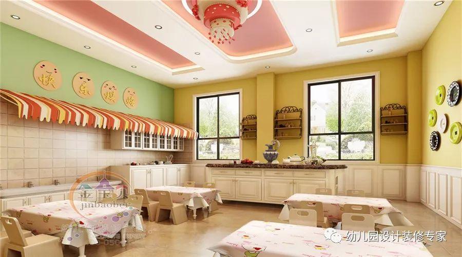 3500㎡现代风格幼儿园装修设计效果图,为孩子们提供丰富多彩的空间