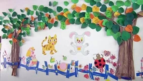 这种装扮就比较森系了,幼儿园本来就是五颜六色的,老师们可以尝试下图片