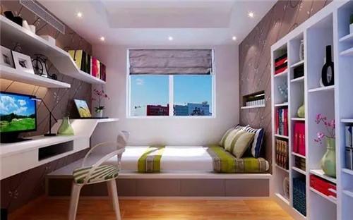 宝鸡装修:书房装修效果图 ,书房增添生活趣味!