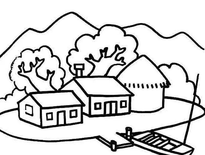 如何画好风景简笔画 有图有教程 值得学习和收藏 巧手教育