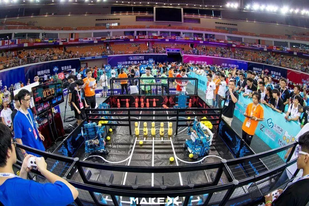 就在今天,makex 机器人挑战赛火热开打!