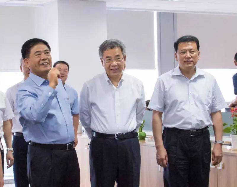 国务院副总理胡春华考察调研中基集团