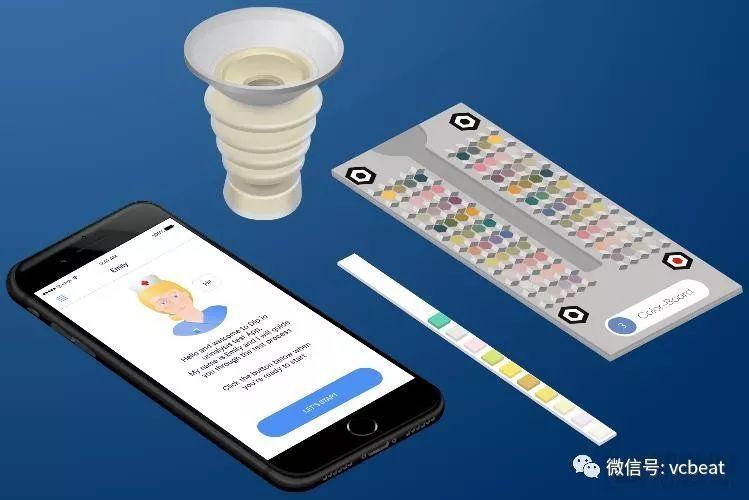 """Dip.io获批FDA首个智能手机摄像头尿检工具II级认证,""""医疗自拍""""终于撬动临床级精准诊断"""