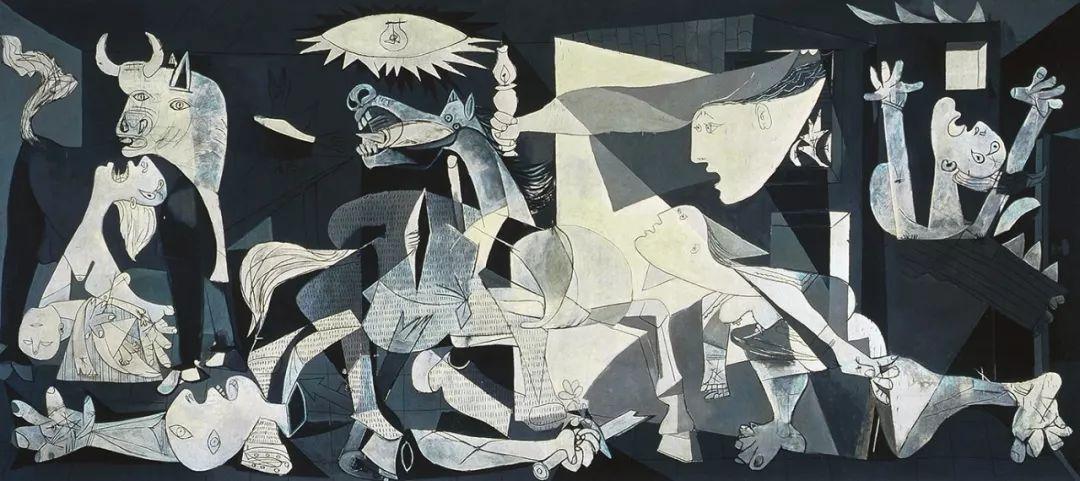 格尔尼卡   毕加索 @ 普拉多博物馆图片