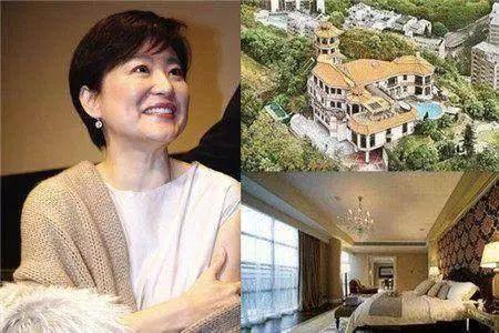 林青霞11亿豪宅曝光,大到一天一夜都逛不完,不嫁秦汉是对的选择