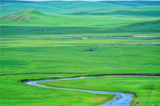 天下第一曲水:呼伦贝尔草原上跳动的音符