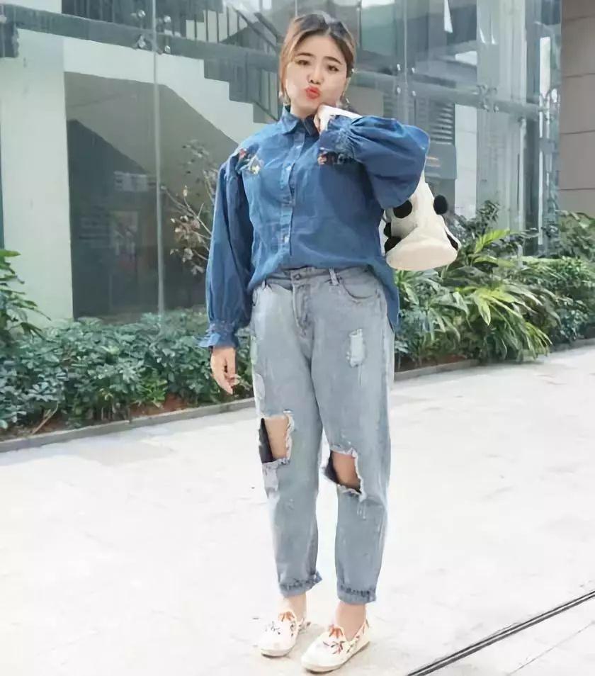 微胖的姑娘尽量不要挑选这几款裤子,没有最胖只有更胖!