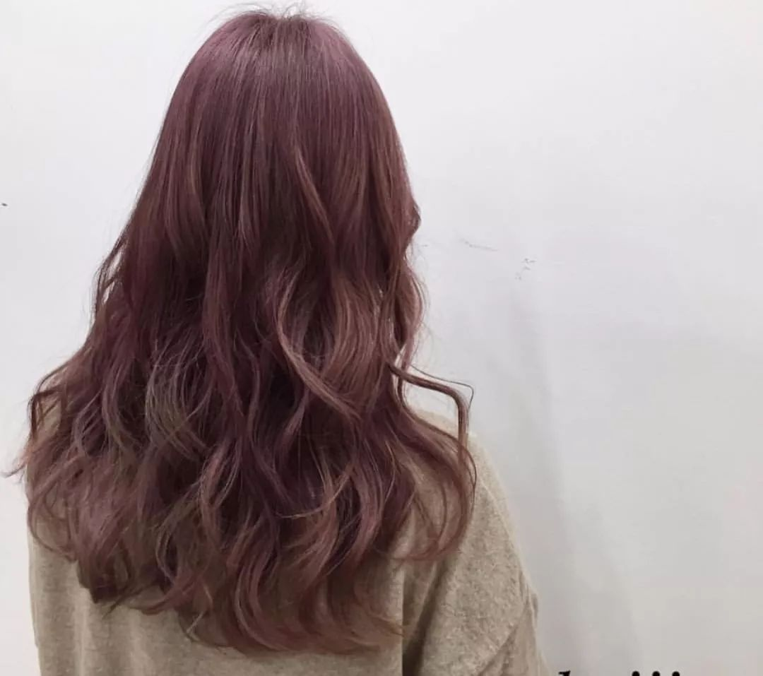 韩式中长发大卷烫发图片