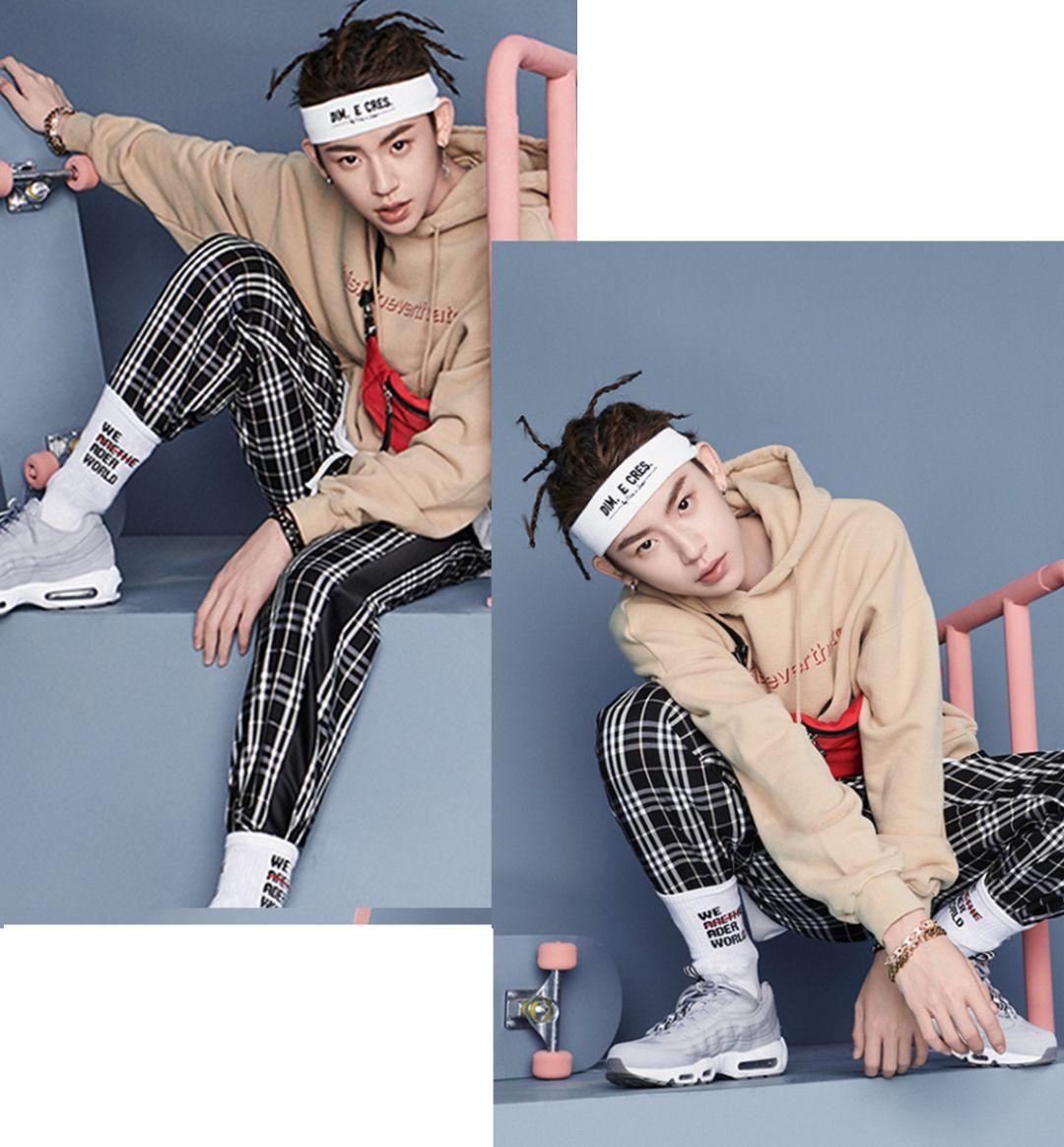 时尚 正文  # 小鬼王琳凯 # 从《中国有嘻哈》到《偶像练习生》,小鬼