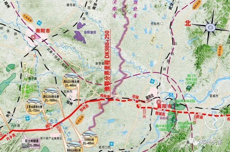 邓州规划图高清版