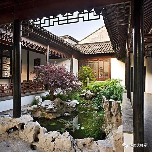 宿颜专栏 | 最skr的院落——中式风格庭院图片