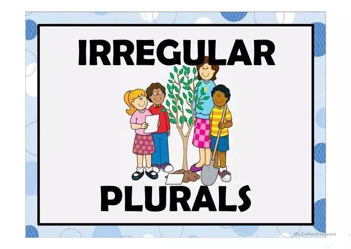 英语小知识|不规则复数