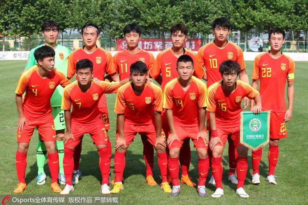潍坊杯-郭田雨陶强龙建功U19国足2-3遭两连败