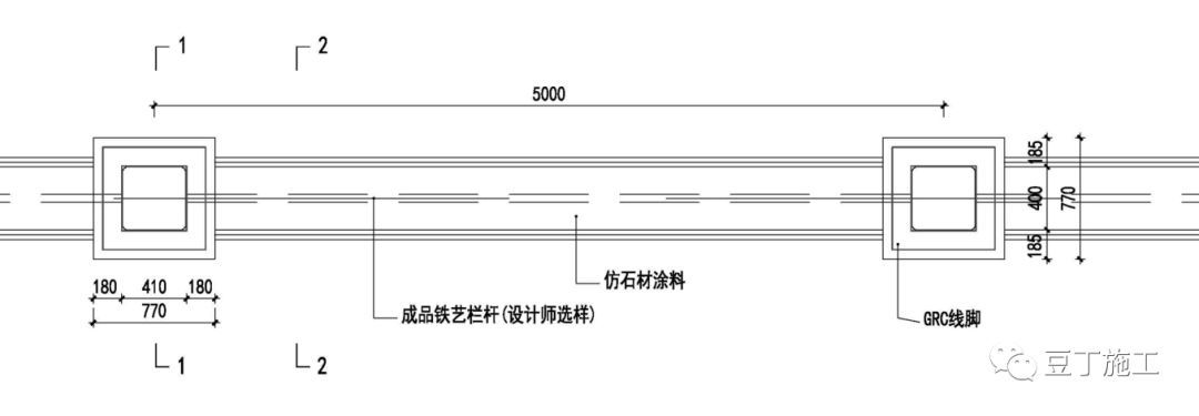 围墙平面图