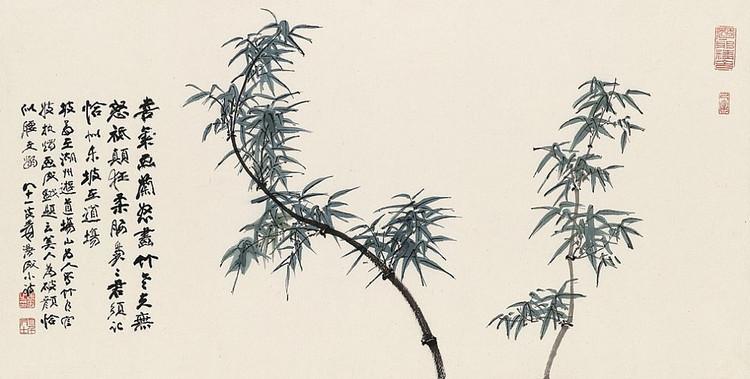 福寿田园                张大千花鸟画册 - yyg1958 - 福寿田园 中国田黄石博物馆